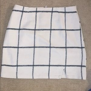 High waisted NWOT Mini skirt lulus